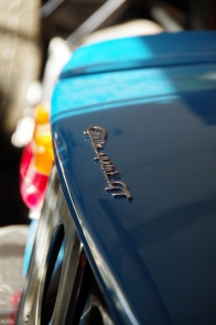 "New chrome boot lid script. ""Giulia Sprint GT"""