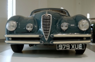 An Alfa Romeo 6C that raced in the Mille Miglia.