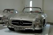 A pair of Mercedes Benz 300SLs.