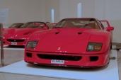A Ferrari F40, F50 and Enzo.