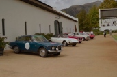 At the Franschhoek Motor Museum for The Cape Alfa Club 50th.