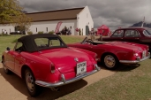 The cars of the Giulietta Tour.