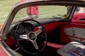 The interior of the Giulietta SS.