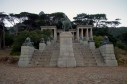 Rhodes Memorial, near UCT. A Stunning Greek Temple to the 19th Century Imperialist.