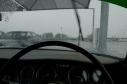 Driving home in the rain. Somewhere near George.