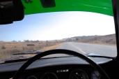 The road out towards Zimbabwe.