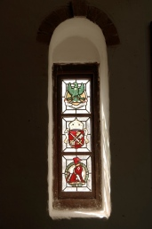 Stain Glass in the Chapel.