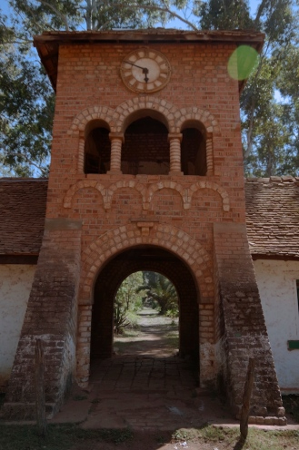 The tower of the gate house