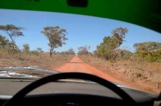 The road to Shiwa Ngandu.