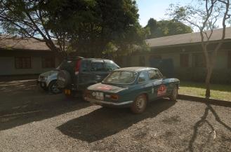 Morning at the Karibuni Centre, Mbeya.