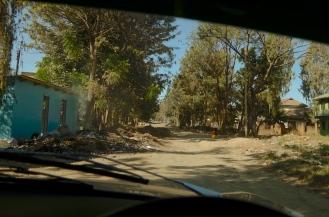 Street scene in Mbeya. Not inspiring.