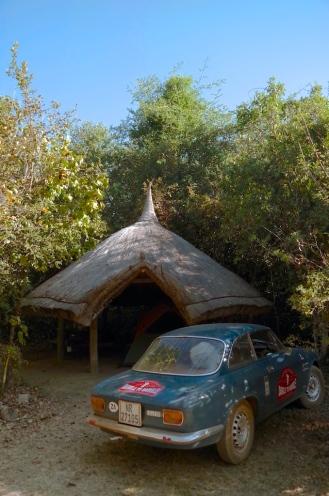 My campsite at Kisolanza.
