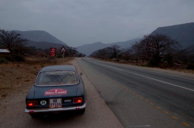 Dawn in Baobab Valley