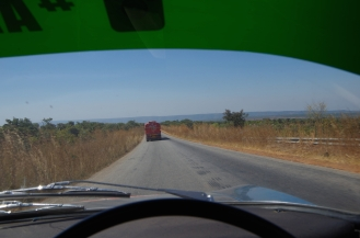 The road to Tanzania.