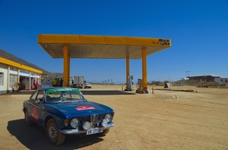 My first Tanzanian fuel stop.