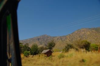 The golden hills of Mbeya.