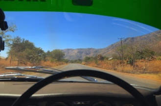The road out of Mbeya.