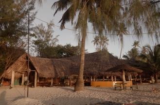 The bar at Mikadi Beach.