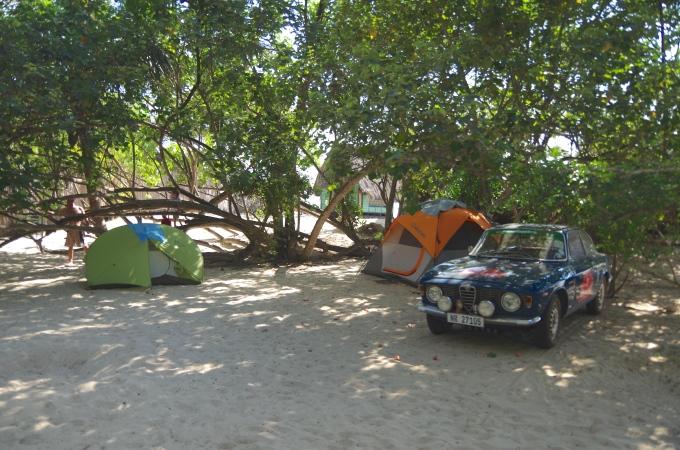 Tent Sufring in Dar esSalaam