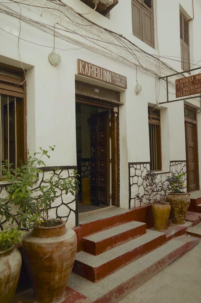 The Karibuni Hotel, Stone Town.