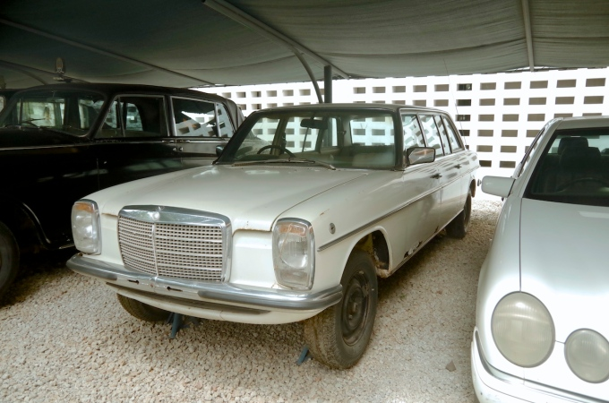 Julius Nyerere's Mercedes Benz. This was his official state vehicle.