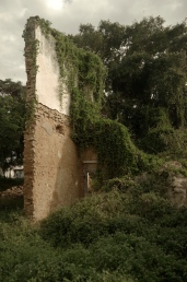 A ruin in town.