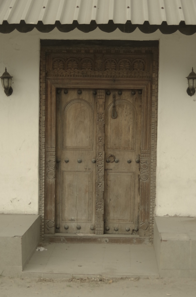 Old doors. Very lovely.