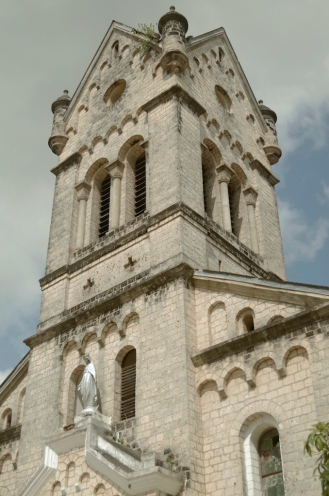 The tower of the 2nd Church.