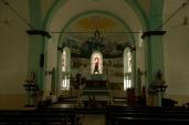 Inside the 2nd Church.