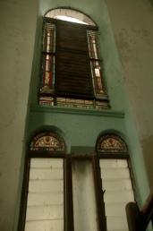 Windows in the 2nd Church.