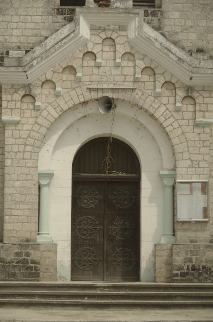 The Church is built from Coral, like much of Bagamoyo.