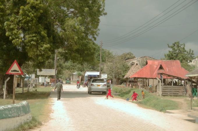India Street in Bagamoyo