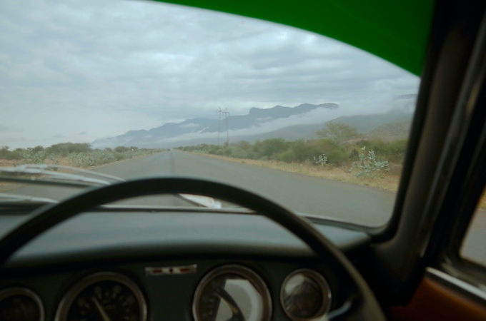 The road to Arusha.