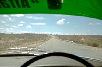 The road towards Nairobi.