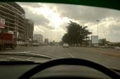 Nearing Nairobi.