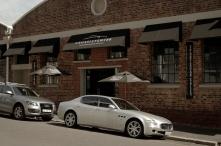 The Crossley & Webb building on Salon Road.