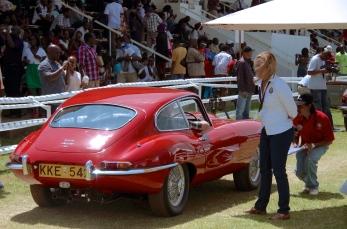 A Jaguar E Type.