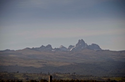 Mt Kenya is 5199 meters above sea level at the summit.