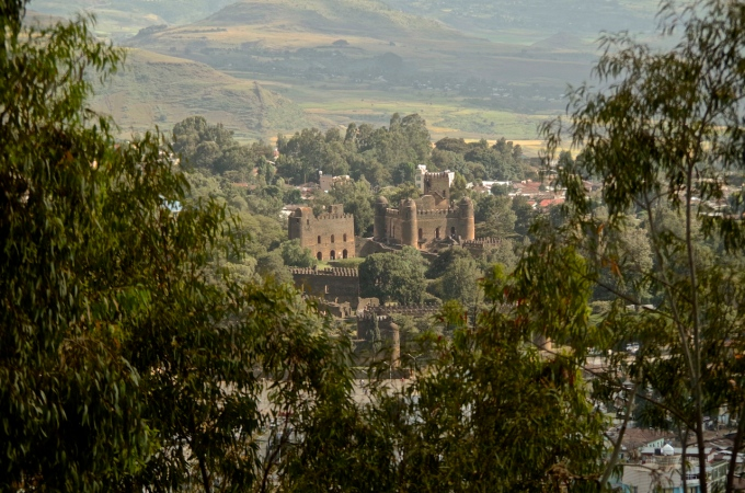 The Castles in Gondar.