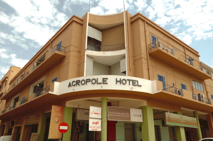 The Famous Acropole Hotel.