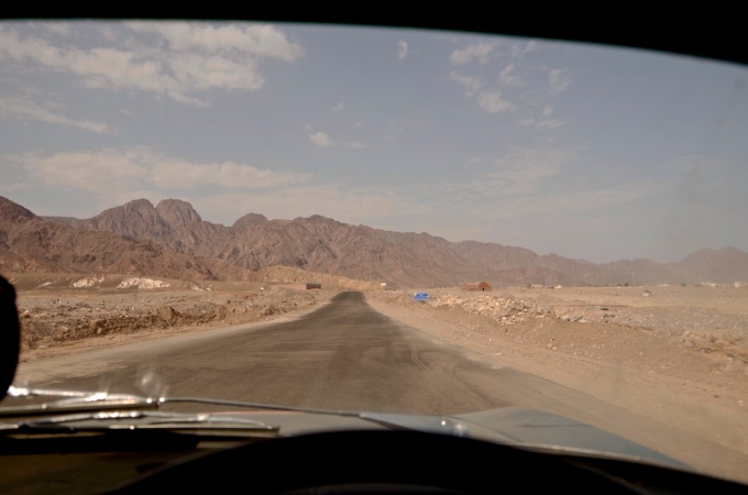 Messier roads on the way to Eilat.