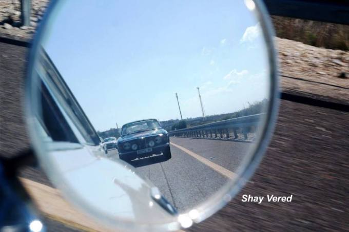 My GT, tailing Shay in the GTV.