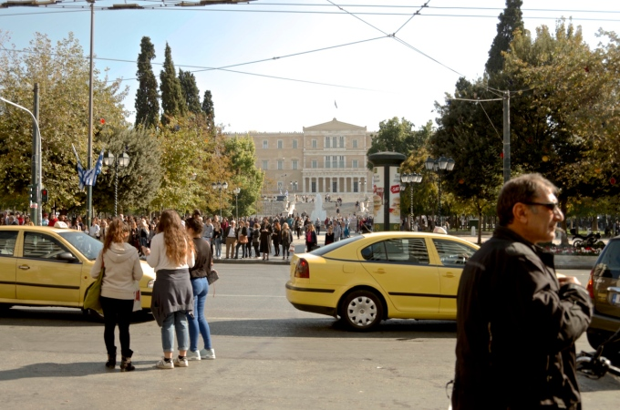 Central Athens.