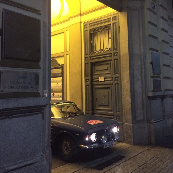 Giulia in Milano, the home of Alfa Romeo.